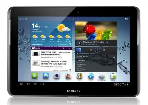 """Samsung Galaxy Tab 2 16GB, Wi-Fi + 3G 10.1"""" - Silver (Grade A)"""