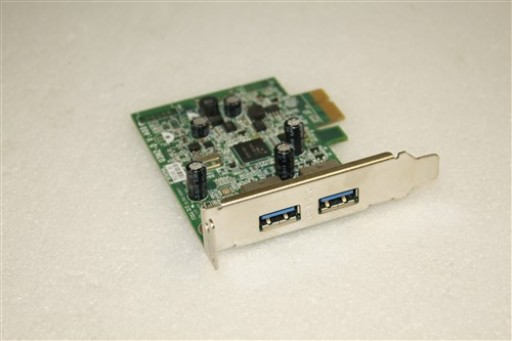 ECS U3N2-D V.:A00 Dell FWGJ8 2 Port USB 3.0 PCI-E Adapter Card