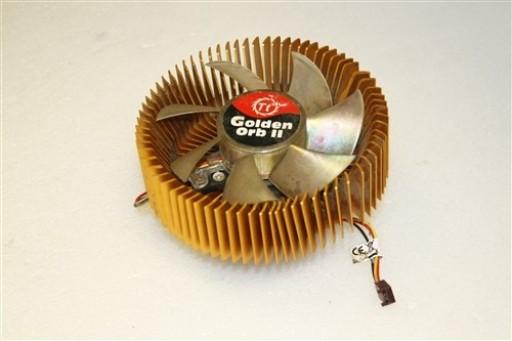 ThermalTake Golden Orb II Socket LGA775 AMD CPU Heatsink LED Fan