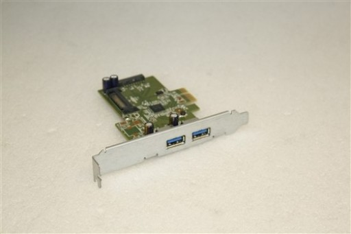 HP USB 3.0 (2x2) SuperSpeed  PCI-E x 1 Adapter Card HI343-1PCB Rev3.2 661320-001