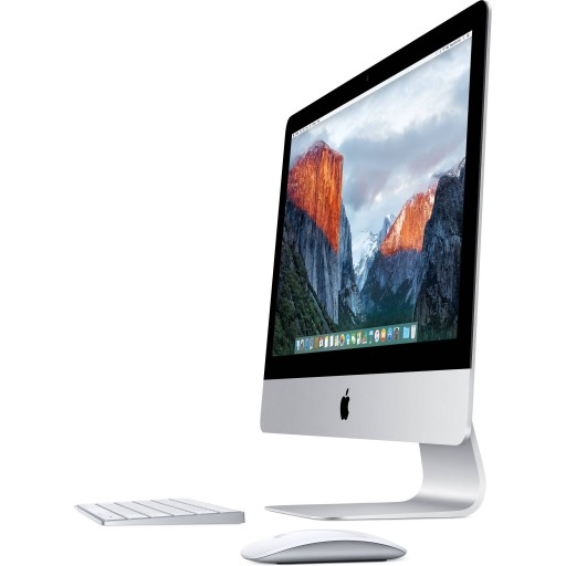 "Apple iMac 21.5"" 4K Retina Quad Core i5-5675R 8GB 1TB Iris Pro 6200 WiFi Bluetooth Camera macOS Catalina (Late 2015)"