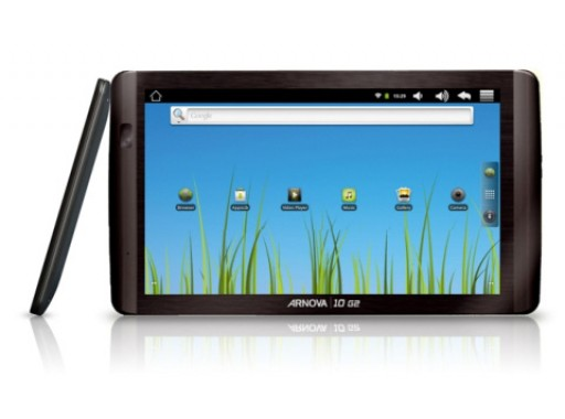 "Archos Arnova 10 G2 10"" Touchscreen Tablet, 4GB, Camera, SD Card, WiFi, Bluetooth, 1080P HD"
