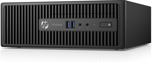 HP ProDesk 400 G3 SFF Desktop PC - 6th Gen Intel Quad Core i5-6500 3.2GHz 8GB DDR4 500GB DVDRW USB 3.0 WiFi Windows 10 Professional