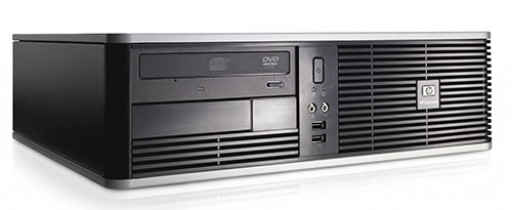 HP DC7900 SFF Core 2 Duo E7400 2GB 160GB DVDRW Windows 10 Professional Desktop PC Computer