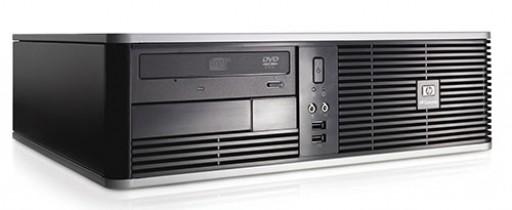 HP DC7900 SFF Core 2 Duo E7300 2GB 320GB DVDRW Windows 7 Professional Desktop PC Computer