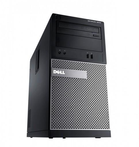 Dell OptiPlex 3020 MT Core i5-4590 8GB 500GB DVDRW WiFi Windows 10 Professional 64-Bit Desktop PC Computer