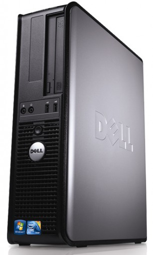 Windows 7, Dell Optiplex Desktop PC 1GB Ram, 80GB Hard Drive