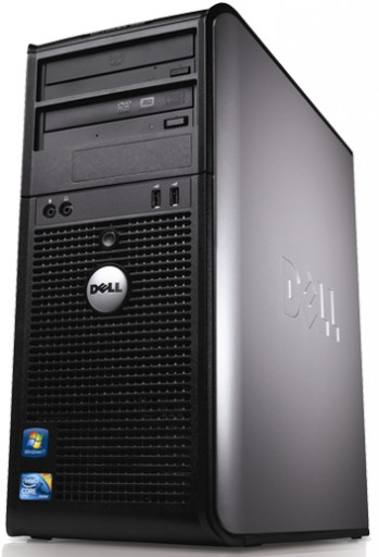 Gaming PC Dell Tower Core 2 Duo GeForce 1GB HDMI DVI Windows 10 Computer