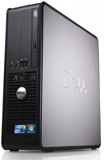 Dell OptiPlex GX620 2.8GHz 1GB DVD Windows 7 Small Form Factor Desktop PC
