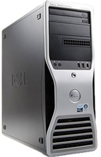 Gaming PC Dell Precision T3400 Core 2 Duo E7400 2.8GHz 4GB GTX 750 Windows 7 Home Premium 64bit
