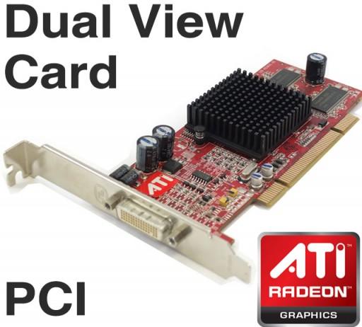 ATI FireMV 2200 PCI Graphics Card 64MB DUAL VIEW DMS-59