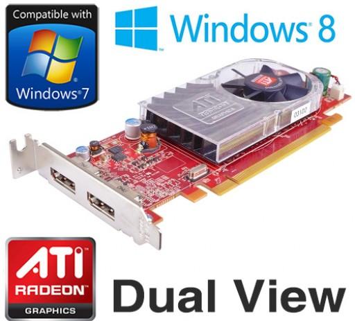 Dell ATi Radeon HD3470 DDR3 256MB Dual Display Port Graphics Card C120D
