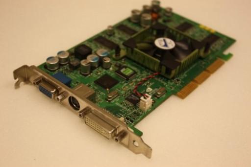 Dell nVidia Geforce4 Ti4200 64MB VGA DVI AGP Graphics Card 3W694