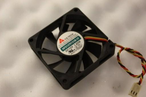 Y.S. Tech NFD1270151B-1F 3Pin Case Fan 70mm x 15mm