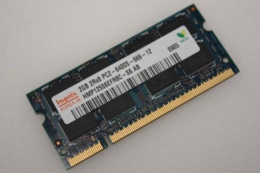 HMP125S6EFR8C-S6 2GB Hynix PC2-6400 800MHz DDR2 Sodimm Laptop Memory