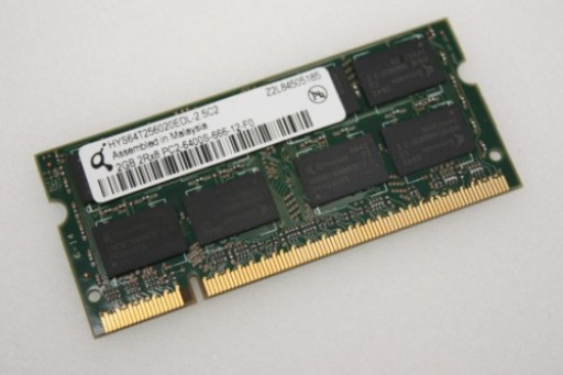 HYS64T256020EDL-2.5C2 2GB Qimonda PC2-6400 800MHz DDR2 Sodimm Laptop Memory