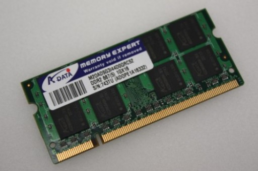 M20AD5G3I44D0QRC52 1GB Adata PC2-5300 667MHz DDR2 Sodimm Laptop Memory