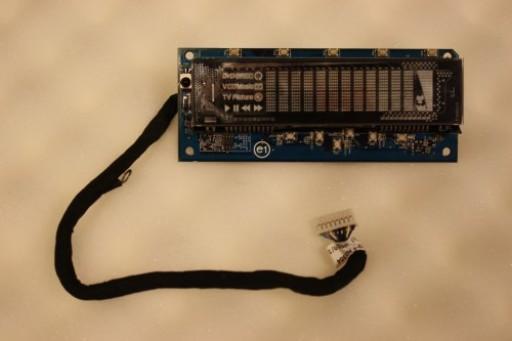 Acer Aspire iDea 510 LED Media Buttons VFD Display Board 48.3P602.011