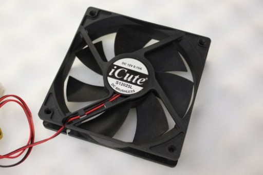 iCute S12025L IDE Case Fan 120mm x 25mm