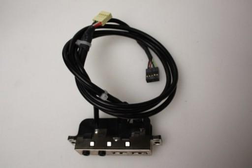 HP Compaq dc7100 CMT Front USB Audio Ports Panel 311091-003