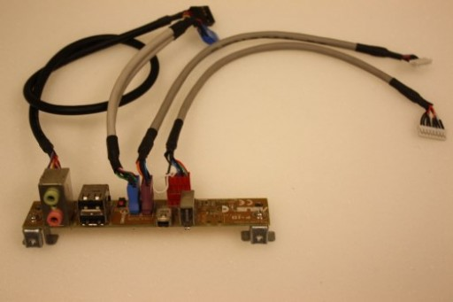 Asus T2-AE1 USB Audio Firewire Ports Panel Board Cables