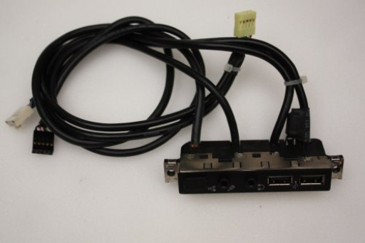 HP Workstation XW6200 Firewire Audio USB Ports Panel 390373-001 321974-004