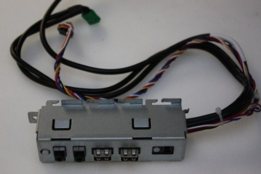 Dell Inspiron 560s Power Button USB Audio Ports Panel K211N 0K211N