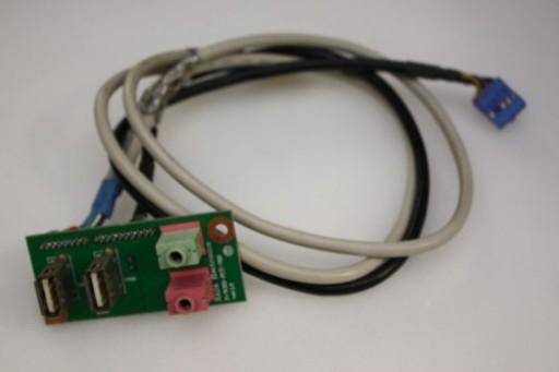 Packard Bell iMedia 2410 USB Audio Ports Panel RD-PCT-702