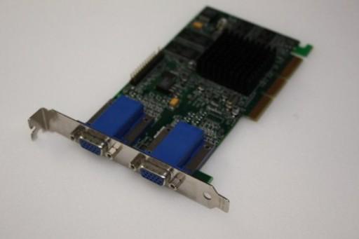 Dell Matrox G450 G45+MDHA32D/DEL Dual Head VGA AGP 32MB Graphics Card 0608UX