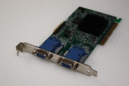 HP Matrox G450 G45+MDHA32DCPQF Dual Head VGA AGP 32MB Graphics Card