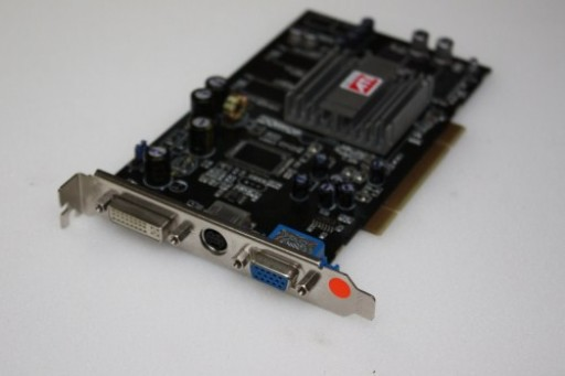 Sapphire ATi Radeon 9250 PCI 128MB DVI Graphics Card 1024-RC25-H2-SA
