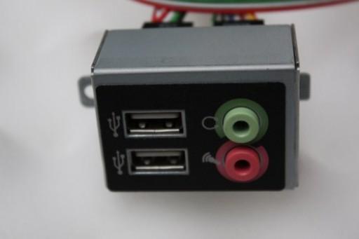 Philips iQon Tecs03 Front USB Audio Panel Ports