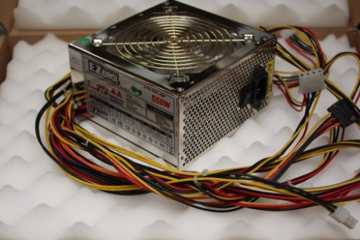 EZcool ATX-550 JSP ATX 550W PSU Power Supply