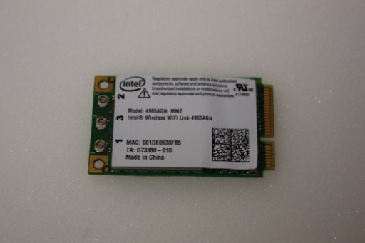 Acer Aspire 6920 6920G 9920 WiFi Wireless Card 4965AGN MM2