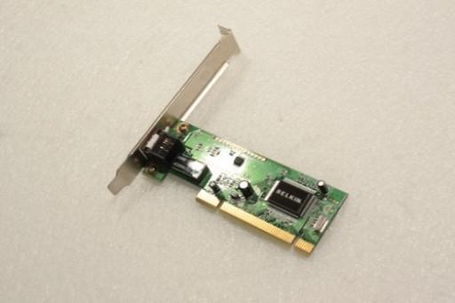 Belkin Enternet Adapter PCI LAN Network Card 1242-00000252-01Z