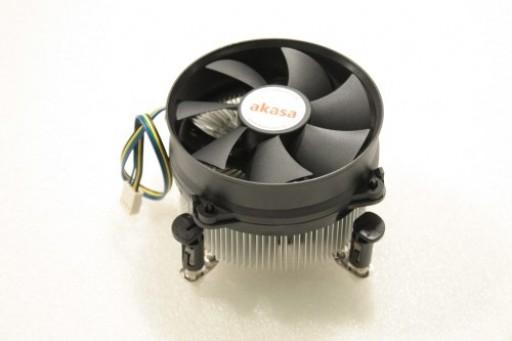 Akasa AK-CCE-7104EP Socket LGA775 4Pin CPU Heatsink Fan