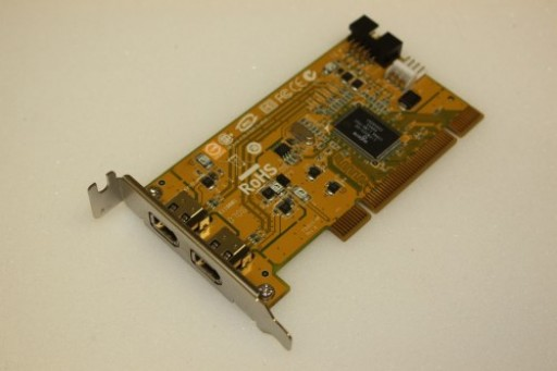 HP PCI 2 IEEE 1394 Firewire Ports Adapter Low Profile Card 441448-001 354614-005