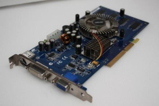 Asus N6600/TD GF 6600 256MB AGP 8X DVI/VGA Graphics Card