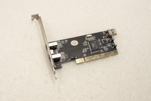 VIA VT6306 PCI IEEE 1394 Firewire Ports 3x 6 Pin 1x 4 Pin Card PCI-IOFWVT6306