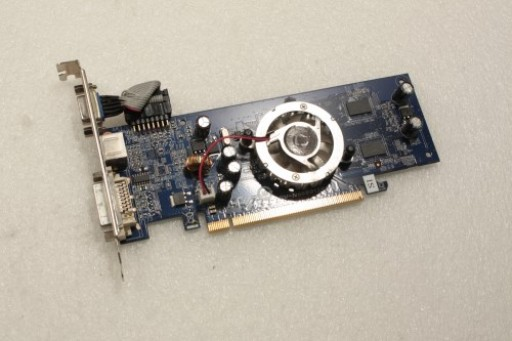 Gigabyte nVidia GeForce 7100GS DVI VGA S-Video PCI-e Graphics Card GV-N6600128FA