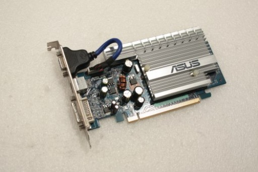 Asus nVidia GeForce EN 7500LE DVI VGA S-Video PCI-e Graphics Card 68C0AIR42024