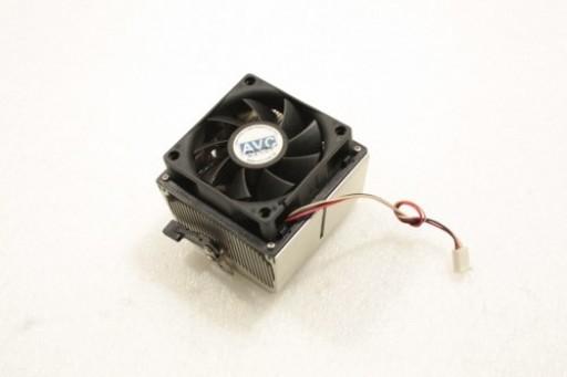 HP Pavilion M1000 Socket 939 CPU Heatsink Fan 24-20386-01