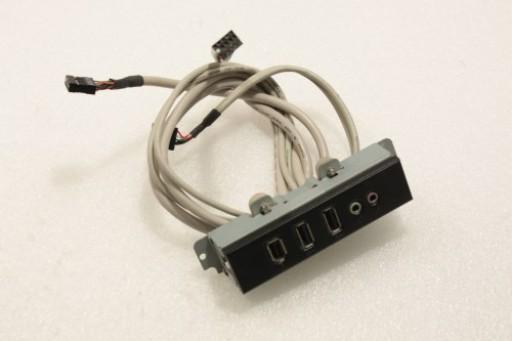 Mesh Elite Pro A8200 LE USB Audio Firewire Ports Panel
