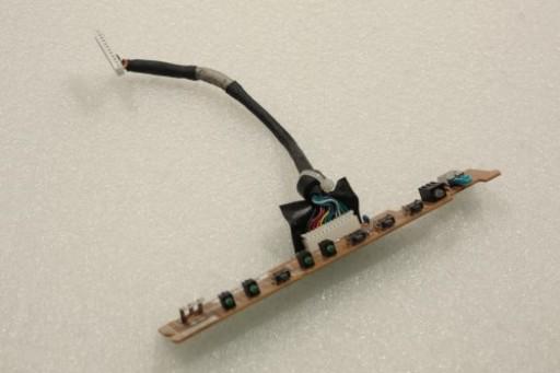 Dell 2001FP Power Media Button Board 55.L7503.001