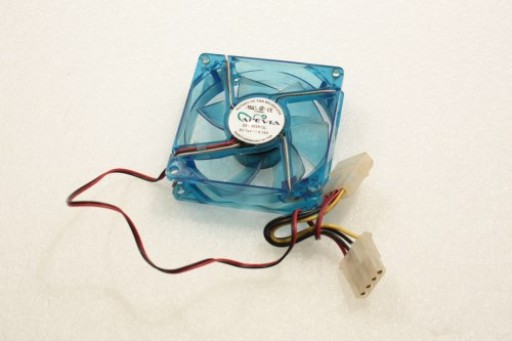 Apevia Blue LED 80MM x 25MM IDE Cable Case Fan Brushless DFS802512L