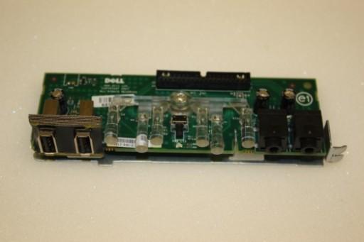 Dell Optiplex 760 MT Power Button USB Audio Board TP004 0TP004