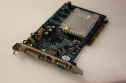 nVidia GeForce FX5200 128MB AGP VGA DVI TV-Out Graphics Card