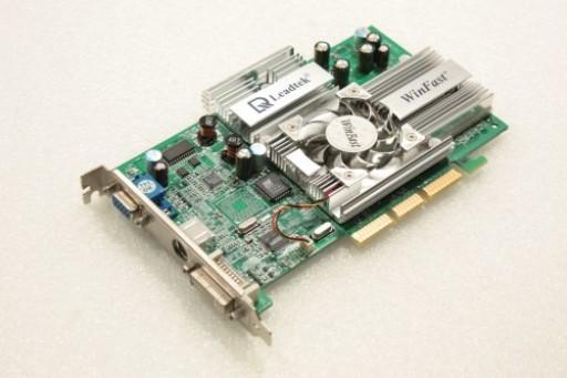 Leadtek WinFast A280LE GeForce4 Ti 4200 128MB AGP VGA DVI Video Card
