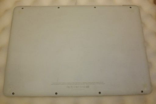 Apple MacBook A1342 Bottom Lower Case 604-1033