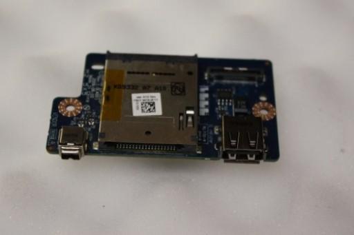 Dell Studio 1745 1747 USB Card Reader Firewire Ports Board FYGWR 0FYGWR